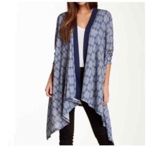 Liberty Love Jr. Open Front Hi-Lo Cardigan